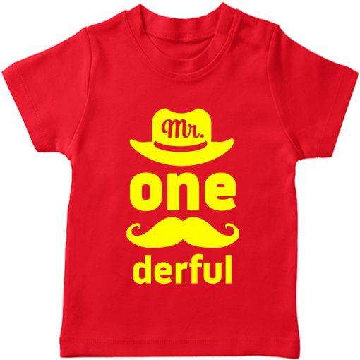 Mr.-Onederful-1st-Year-Birthday-Celebration-T-Shirt-Red