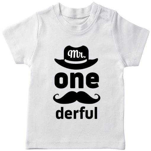 Mr.-Onederful-1st-Year-Birthday-Celebration-T-Shirt-White