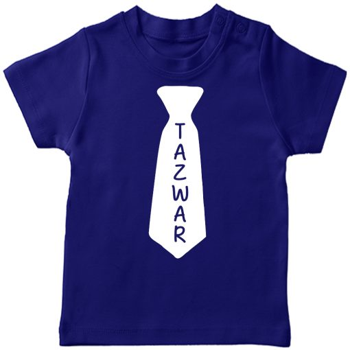 Name-in-a-tie-T-Shirtr-Blue