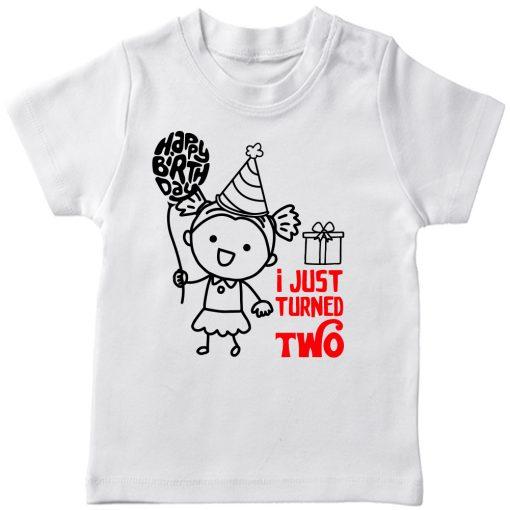 One-Year-Celebration-Birthday-TShirt-Girl-White