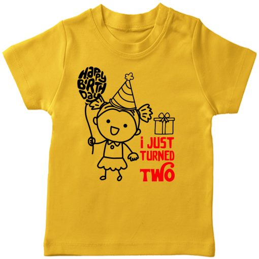 One-Year-Celebration-Birthday-TShirt-Girl-Yellow