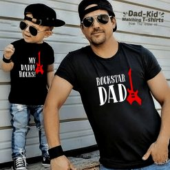 Rock-n-Roll-Dad-Son-Combo-T-Shirt-Content