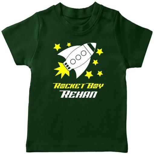 Rocket-Customized-T-Shirt-Boy-Green