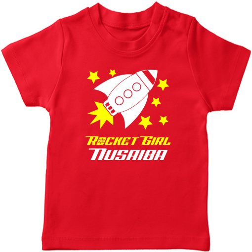 Rocket-Customized-T-Shirt-Red