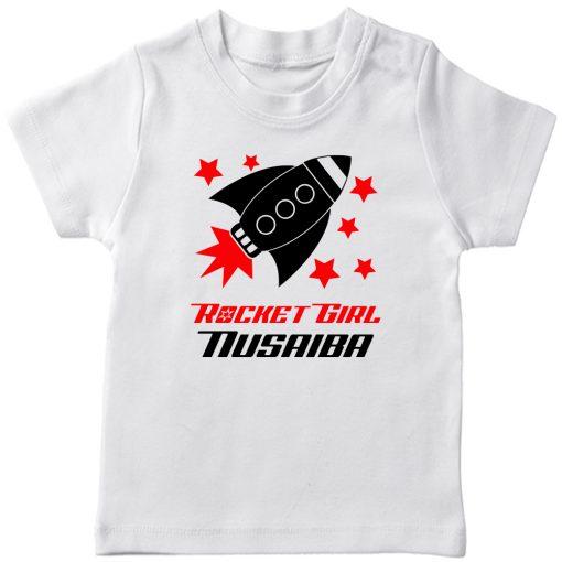 Rocket-Customized-T-Shirt-White