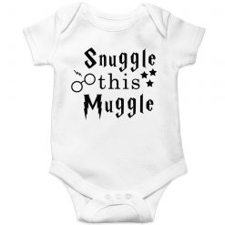 Snuggle-This-Muggle-Baby-Romper-White