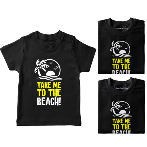 Take-Me-To-The-Beach-Vacation-Combo-Tees-Black