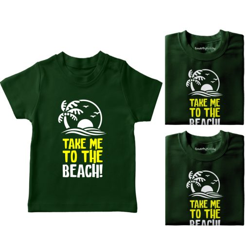 Take-Me-To-The-Beach-Vacation-Combo-Tees-Green