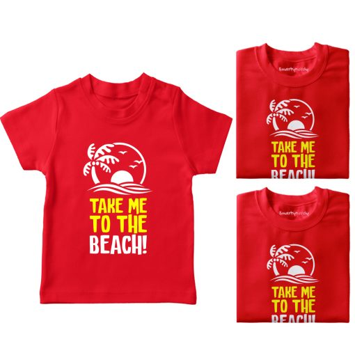 Take-Me-To-The-Beach-Vacation-Combo-Tees-Red