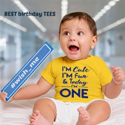 Cute,-Fun-&-One-Birthday-T-Shirt-Content