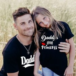Daddy-&-Daddy's-Little-Princess-Combo-T-Shirt-Content