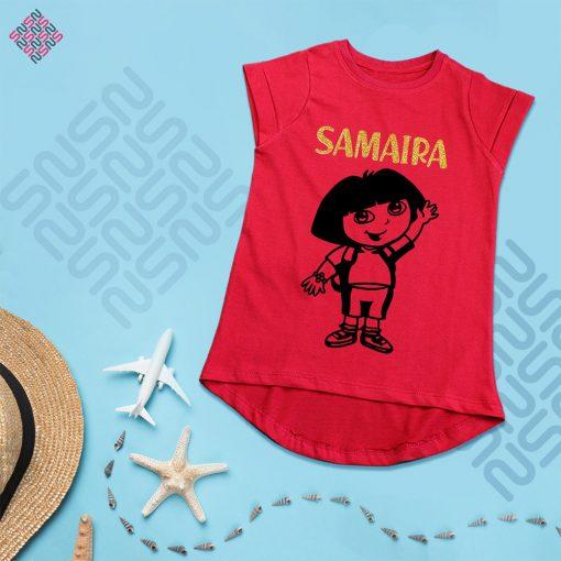 Dora-Cartoon-Girls-T-Shirt-Content