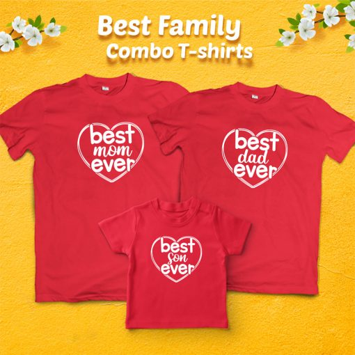 Heart-Shaped-Best-Family-Combo-Designed-T-Shirt-Content