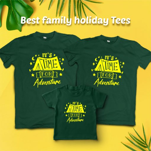 It's-Time-For-Adventure-Family-Vacation-T-Shirt-Content