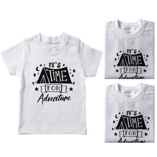 It's-Time-For-Adventure-Family-Vacation-T-Shirt-White