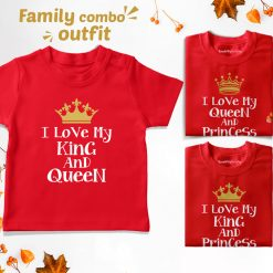 King-Queen-&-Prince-or-Princess-Family-Combo-T-Shirt-Content