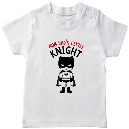 Mom-Dad's-Little-Knight-T-Shirt-White