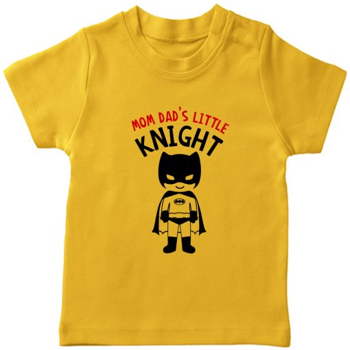 Mom-Dad's-Little-Knight-T-Shirt-Yellow