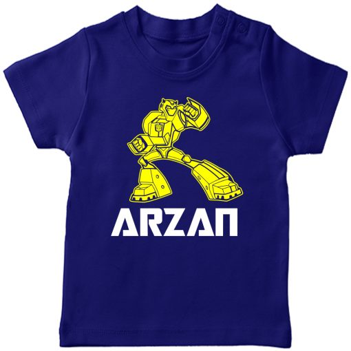 Transformers-Customized-Name-T-Shirt-Blue
