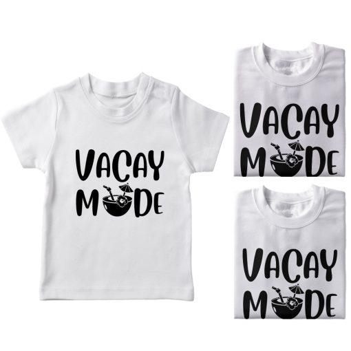 Vacay-Mode-Family-Vacation-Combo-T-Shirt-White