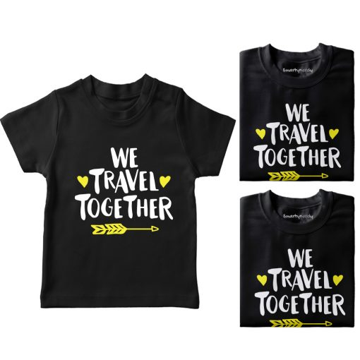 We-Travel-Together-Family-Vacation-T-Shirt-Black