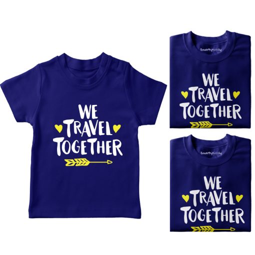 We-Travel-Together-Family-Vacation-T-Shirt-Blue