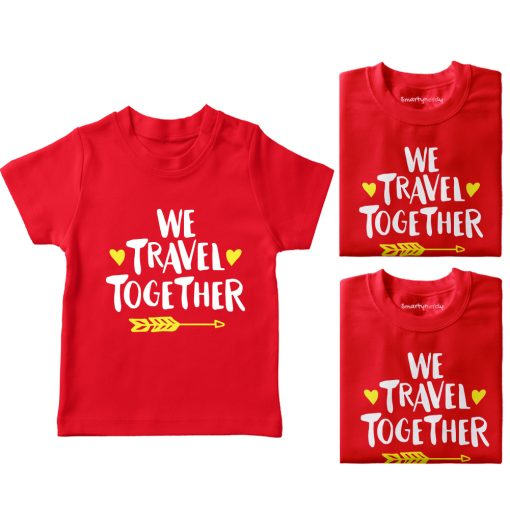 We-Travel-Together-Family-Vacation-T-Shirt-Red