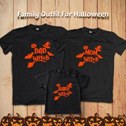 Witch-Family-Holloween-combo-T-Shirt-Content