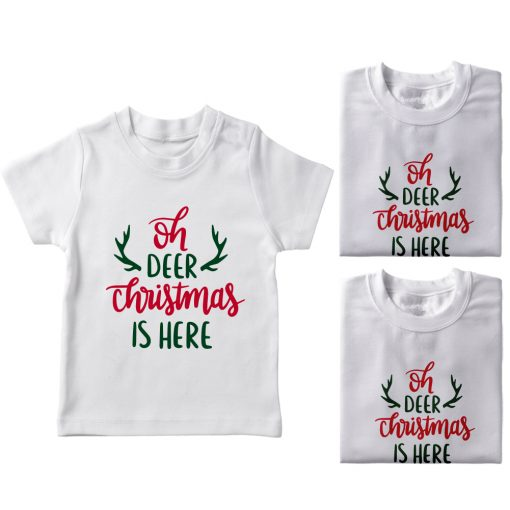 Christmas-Is-Here-Family-Combo-T-Shirt-White