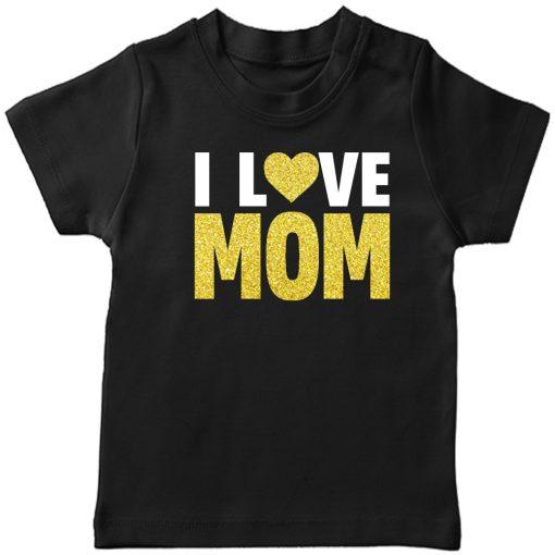 I-Love-Mom-T-Shirt-Black