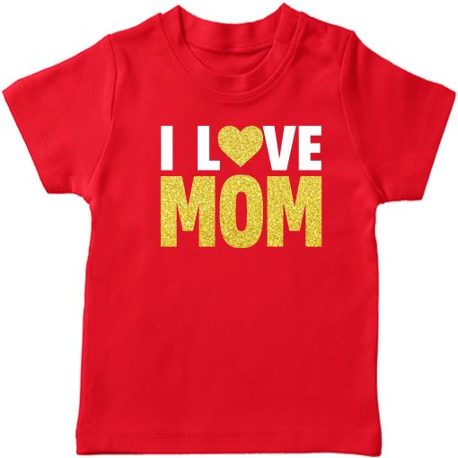 I-Love-Mom-T-Shirt-Red