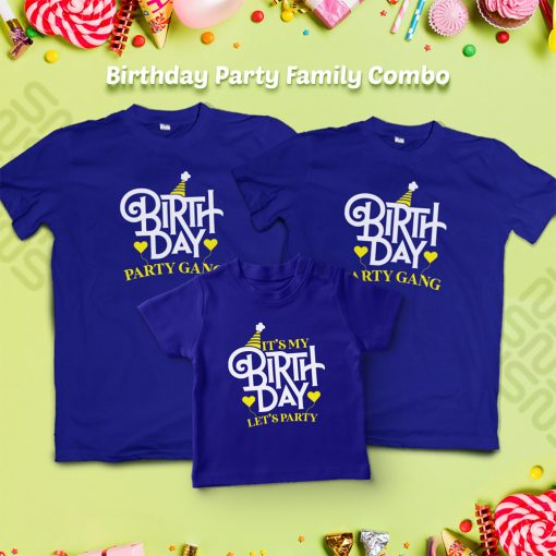 It's-My-Birthday,-Let's-Do-Party-With-Gand-T-Shirt-Content