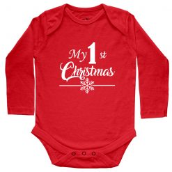 My-1st-Christmas-Baby-Romper-Red