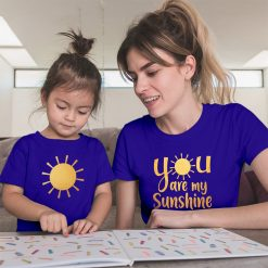 Sunshine-Mom-Daughter-Family-Combo-T-Shirt-Content
