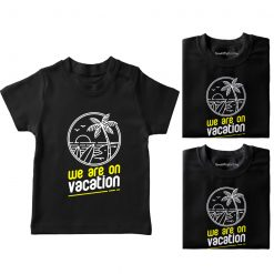 We-Are-On-Vacation-Family-Combo-T-Shirt-Black