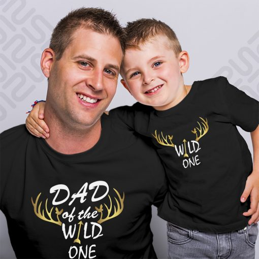 Wild-Dad-Son-Family-Combo-T-Shirt-Content