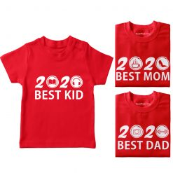 Best-Family-in-2020-Combo-T-Shirt-Red