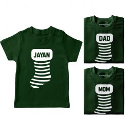 Christmass-Socks-Family-Combo-Tees-Green