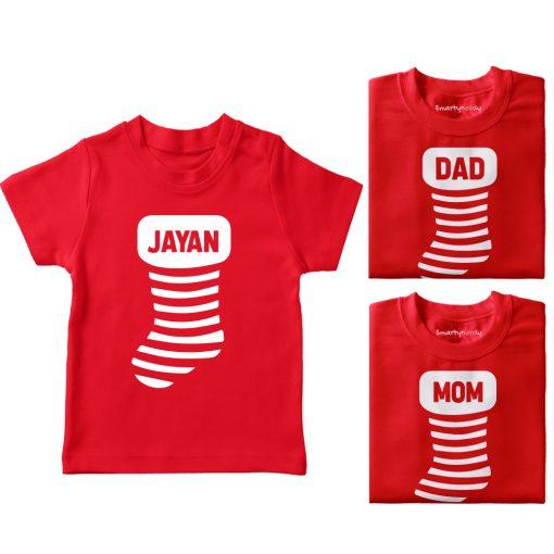 Christmass-Socks-Family-Combo-Tees-Red