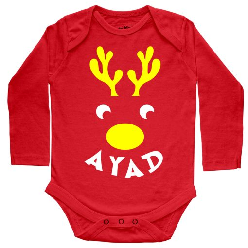Deer-Christmas-Baby-Romper-Red--Full-Sleeve