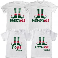 Elf-Family-Combo-Christmass-T-Shirt-White