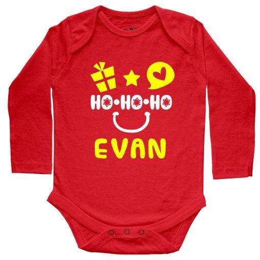HO-HO-HO-Christmas-Baby-Romper-Red