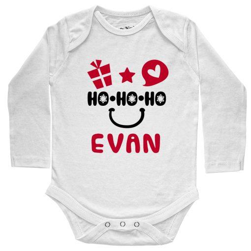 HO-HO-HO-Christmas-Baby-Romper-White