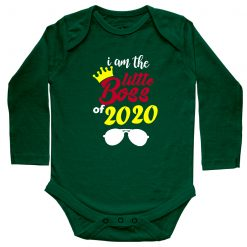 I'm-The-Little-Boss-Baby-Romper-Green-Full