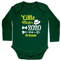 Little-Mister-Baby-Romper-Green-Full-Sleeve