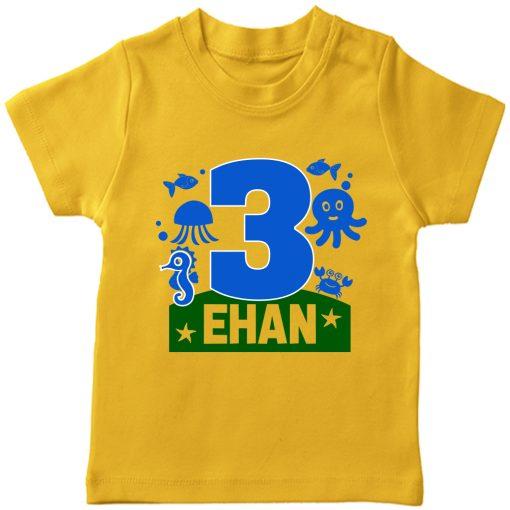 Sea-Name-Customized-Name-Birthday-Kids-Tee-Yellow