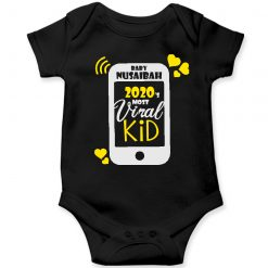 Viral-Kid-Baby-Romper-Black