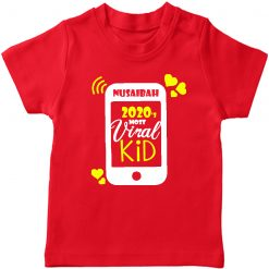 Viral-Kid-TShirt-Red