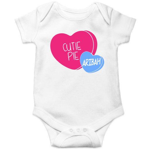 Cutie-Pie-Customized-Name-Baby-Romper-White