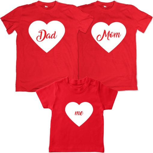 Dad-Mom-Me-Valentine-Family-Combo-T-Shirt-Red